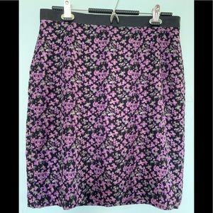 InWear black ladybird skirt